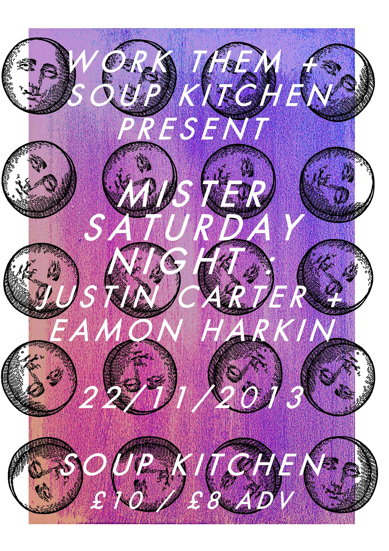 Mister Saturday Night Poster November 2013